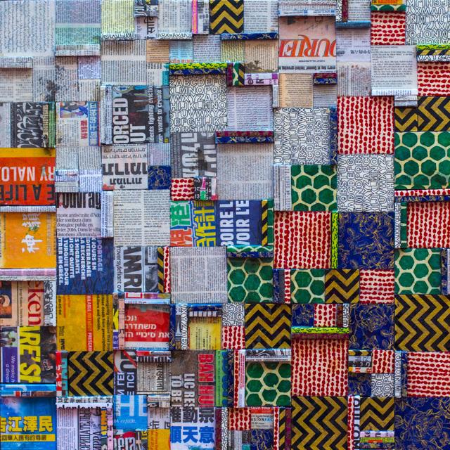 """Silvio Fischbein, 'Sin Título, de la serie """"todos, IGUAL"""" 80 x 80 x 2 cm.', 2017, Mixed Media, Papel, resina epoxi., Galería de Arte Imaginario"""