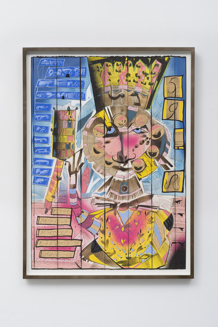 Lari Pittman, 'Untitled', 2017, LAXART