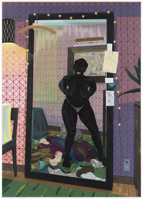 , 'Untitled (Mirror Girl),' 2014, MCA Chicago