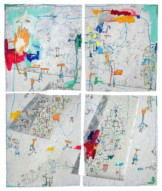 , 'Diptico 4,' 2016, Allouche Gallery