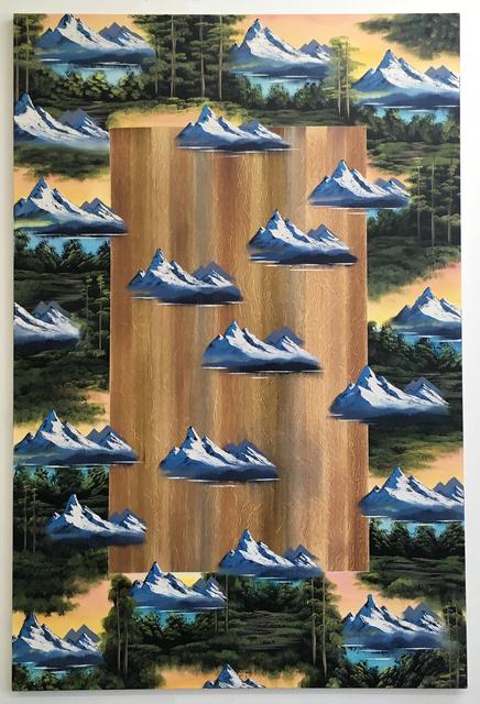 , 'Genesis Mountain,' 2017, VALENTIN