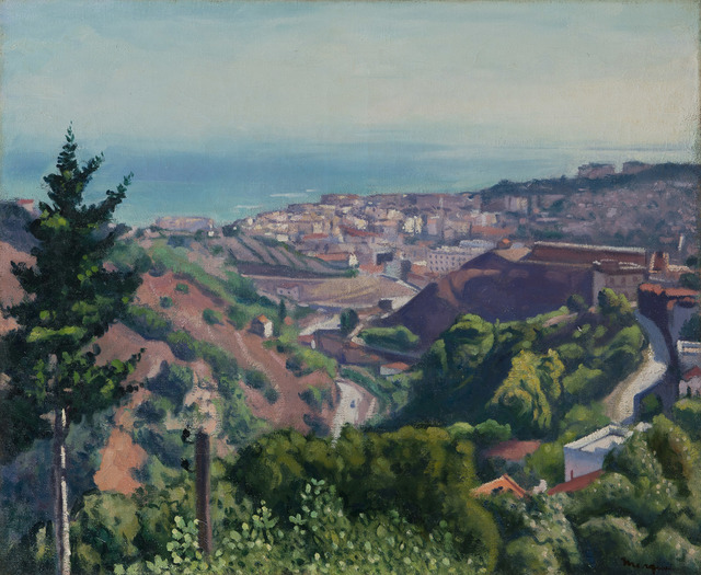 , 'Beau jour, vue d'Alger,' 1945, BAILLY GALLERY