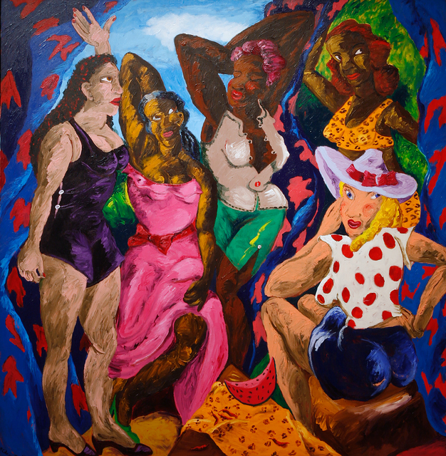 , 'Les Demoiselles d'Alabama: Vestidas,' 1985, Seattle Art Museum