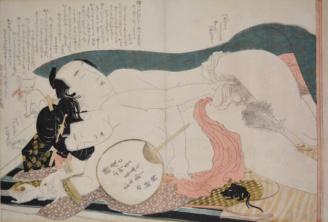 , 'A Cat, Two Mice and Two Young Lovers,' ca. 1812, Ronin Gallery