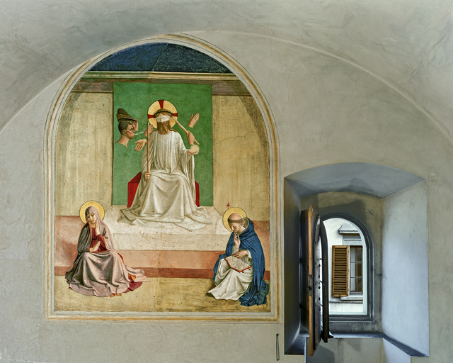 , 'The Mocking of Christ by Fra Angelico, Cell 7, Museum of San Marco Convent, Florence, Italy,' 2010, Kasmin