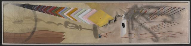 Marcel Duchamp, 'Tu m'', 1918, Yale University Art Gallery