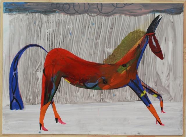 , 'Untitled (out of the horse series),' 2018, Jahn und Jahn