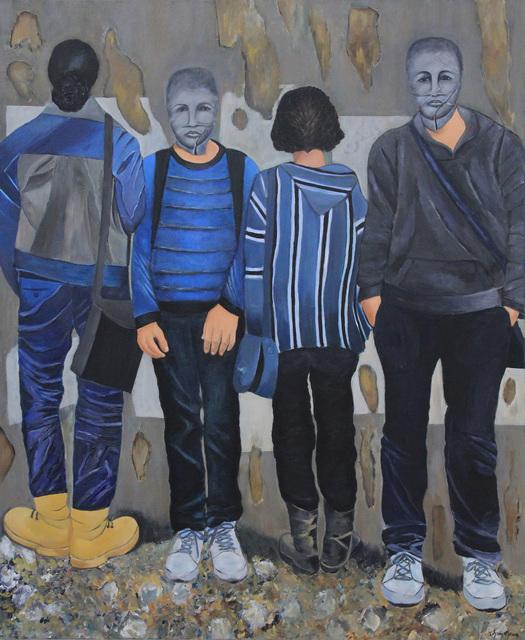 , 'Blocked,' 2014, Art On 56th