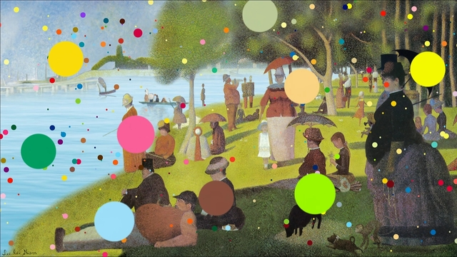, 'Crossover Seurat,' 2011, Leehwaik Gallery
