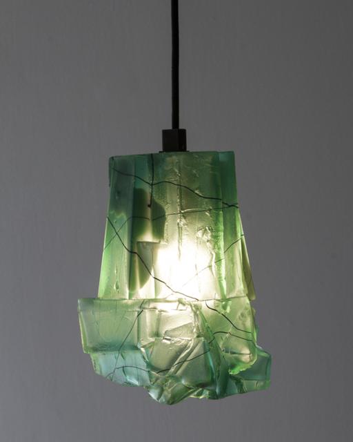 Thaddeus Wolfe, 'Unique Assemblage Pendant Lamp,' 2014, UrbanGlass