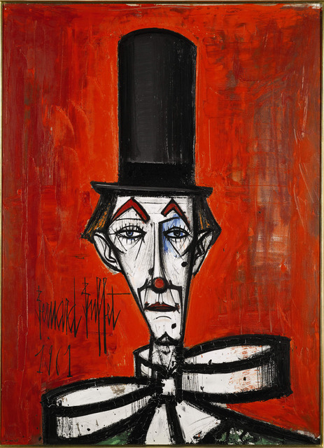 , 'Clown au chapeau noir,' 1961, Opera Gallery
