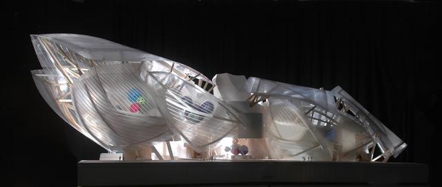 , 'Fondation Louis Vuitton Final Design Model, Paris, France,' 2005-2014, Los Angeles County Museum of Art
