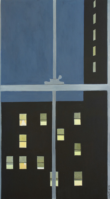 , 'Men's Hotel with 11 Windows Lit,' 2016, Alexandre Gallery