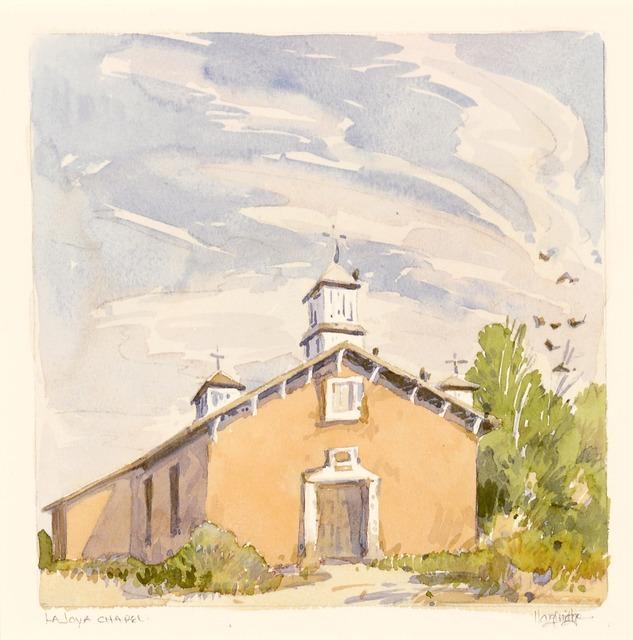 Leon Loughridge, 'La Joya Chapel', Gerald Peters Gallery