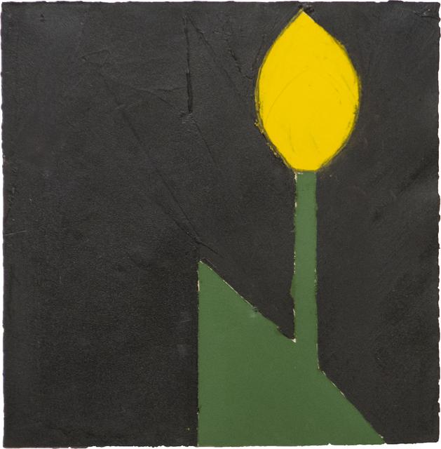Donald Sultan, 'Yellow Tulip #18', 1980, Heather James Fine Art
