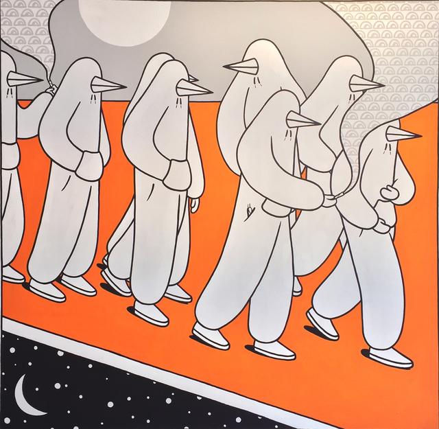 GAB, 'Walking in the Desert', 2017, Dan Gallery