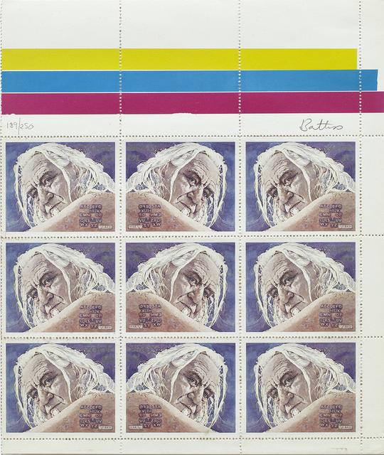, 'Fook Island Stamp Issue: Self Portrait - Alphabet,' , Johans Borman Fine Art