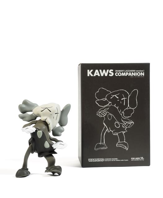 KAWS, 'Set of 3 Companion (Grey, Black, Brown)', 2010, Sculpture, Painted cast vinyl, DIGARD AUCTION