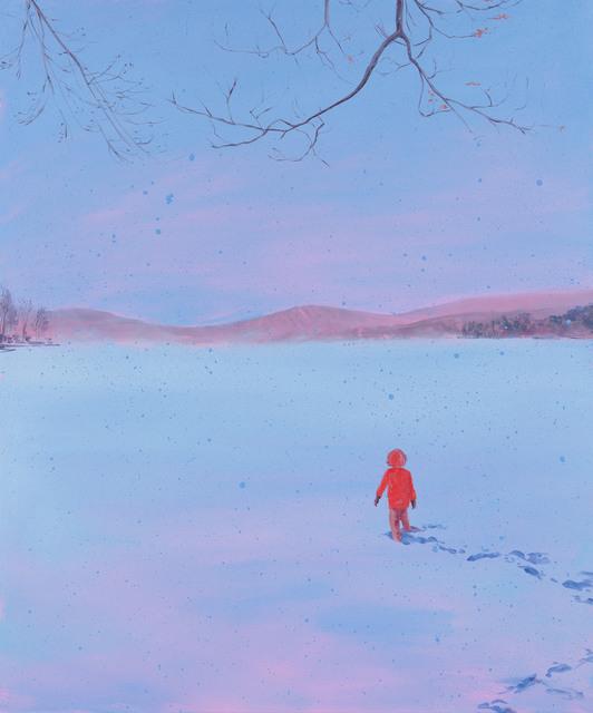 Sebastian Blanck, 'Pink Haze / Snow Dusk', 2018, Tayloe Piggott Gallery
