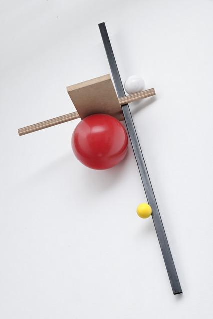, '3 axes , 3 sphères,' 2014, TORRI