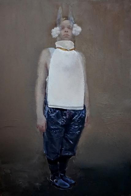 , 'Charles in white,' 2017, Galleria Doris Ghetta