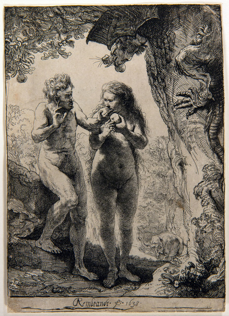 , 'Adam and Eve,' 1638, Centre for Fine Arts (BOZAR)