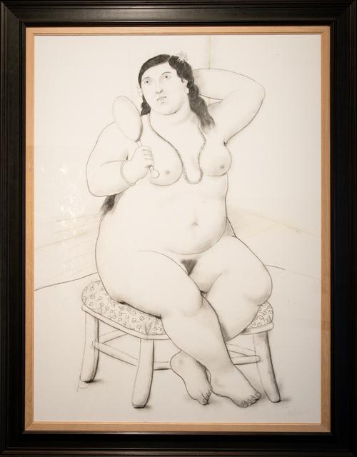 , 'Mujer con espejo,' 2011, MAMAN Fine Art Gallery