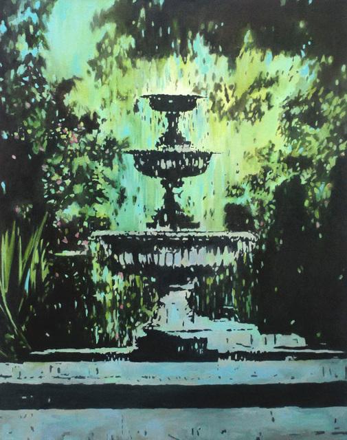 , 'Park Fountain,' 2018, Reuben Colley Fine Art