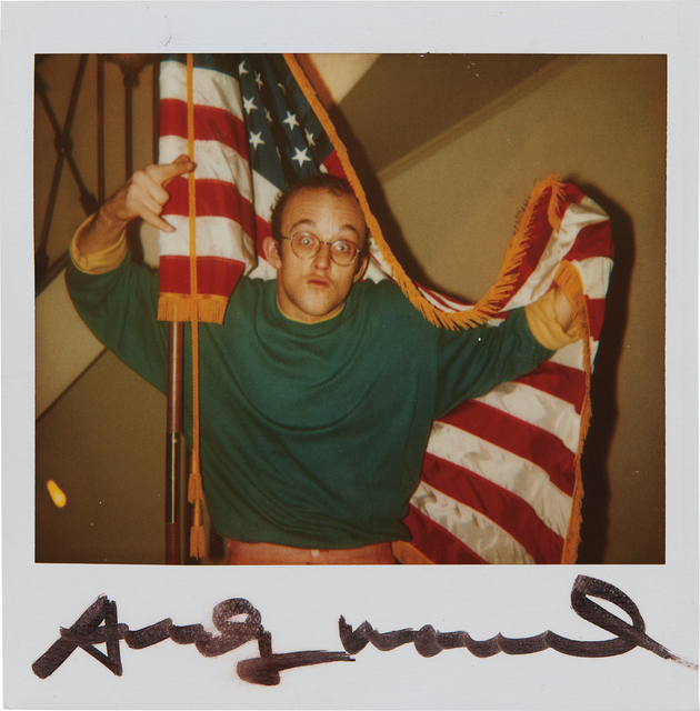Andy Warhol, 'Keith Haring', 1986, Phillips