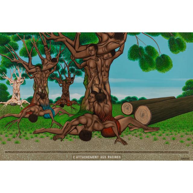 Chéri Samba, 'L'attachement aux racines', 2010, PIASA