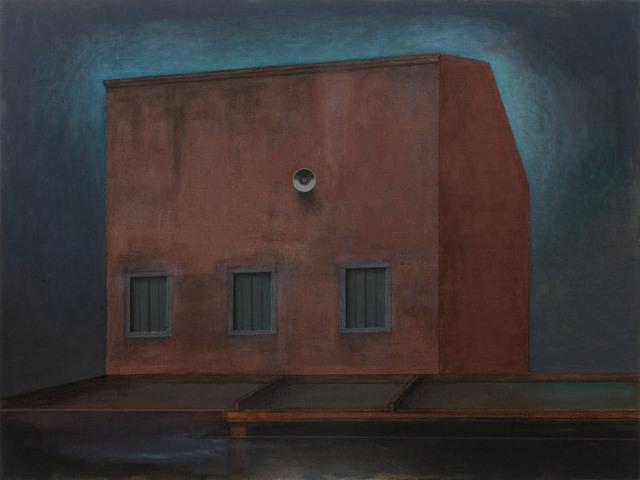 , 'Red Building with Speaker,' 2012, Galerie Kovacek & Zetter