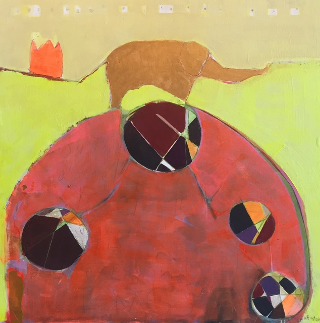 "Sara Matson Westover, '""The Yellow Elephant""', 2017, M.A. Doran Gallery"