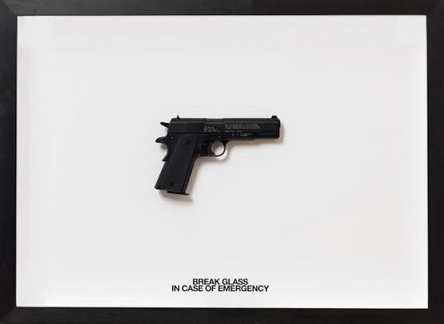 , 'Break Glass In Case of Emergency (45 Magnum),' , Samuel Owen Gallery