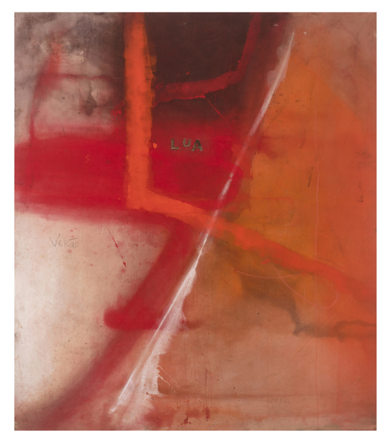 Karin Lambrecht, 'Inside', 2015, Painting, Pigments in acrylic medium and cut copper on canvas, Nara Roesler