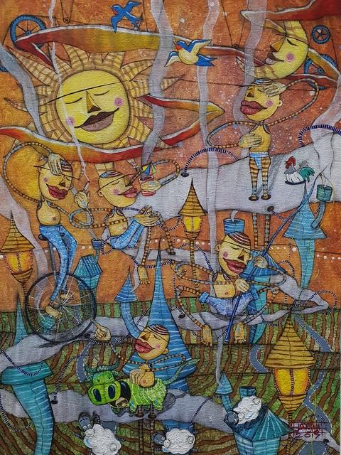 , 'When Time Stops (Sa Paghinto ng Oras),' 2018, Di Legno Gallery