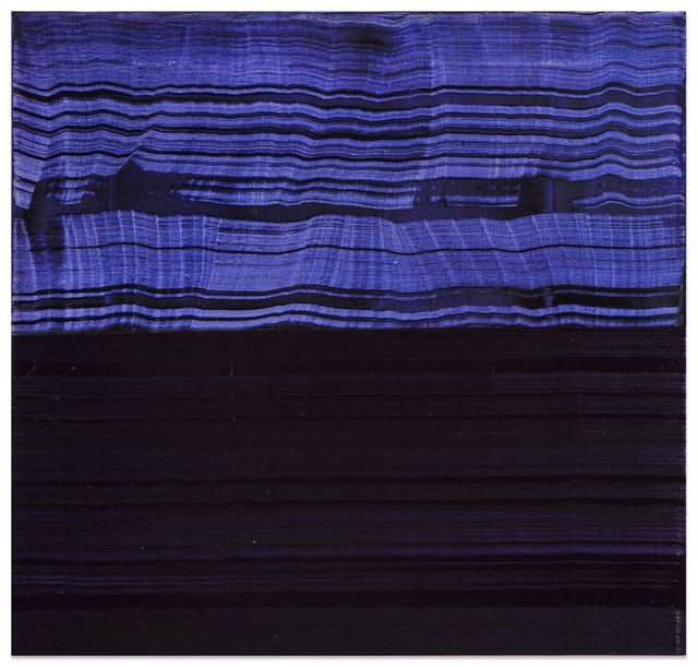 , 'Violet Blue and Black 2,' 2016, Sundaram Tagore Gallery