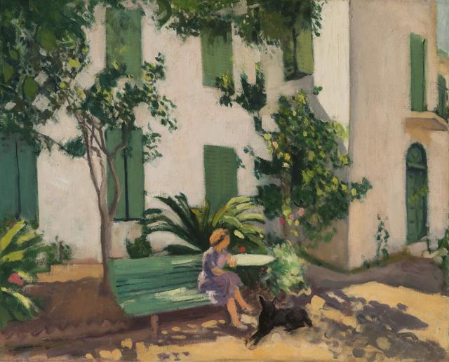 Albert Marquet, 'Le repos devant la maison', 1944, BAILLY GALLERY