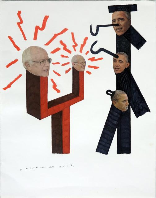 , 'Bernie & Obama,' 2016, Die Ecke Arte Contemporáneo