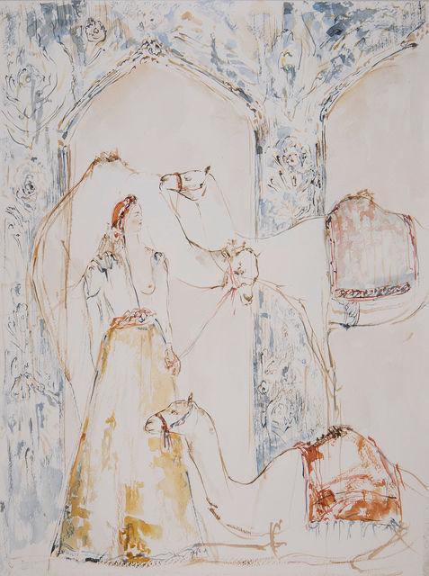 Yalda Sepahpour, 'Watercolor # 11', 2019, Simard Bilodeau Contemporary