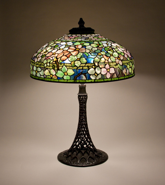 , 'Dogwood Table Lamp,' ca. 1906, Lillian Nassau LLC