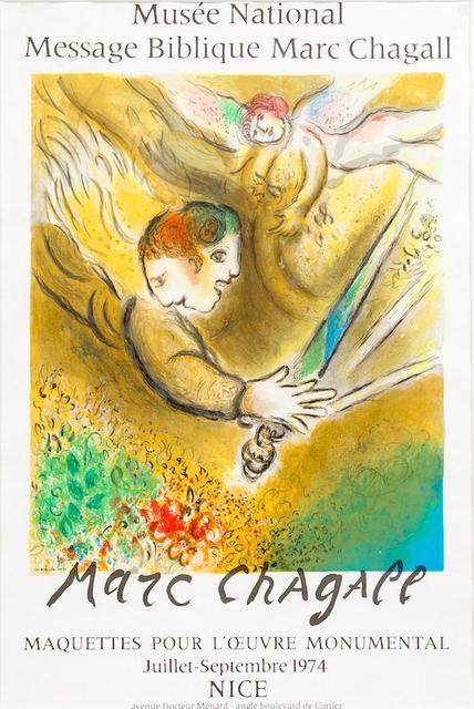 Marc Chagall, 'Musée National ', 1974, Print, Lithograph, Van der Vorst- Art