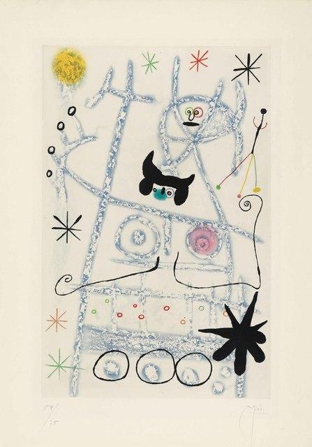 Joan Miró, 'Les Forestiers (bleu)', 1958, Christie's