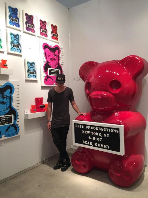 , '7 ft Vandal Gummy Bear,' 2016, Oliver Cole Gallery