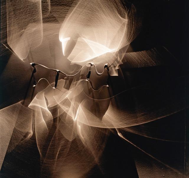 , 'Continuel-lumière avec formes en contorsion,' 1966, Bugada & Cargnel