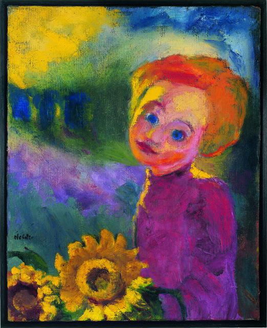 , 'Kleine Sonnenblumen,' 1946, Louisiana Museum of Modern Art