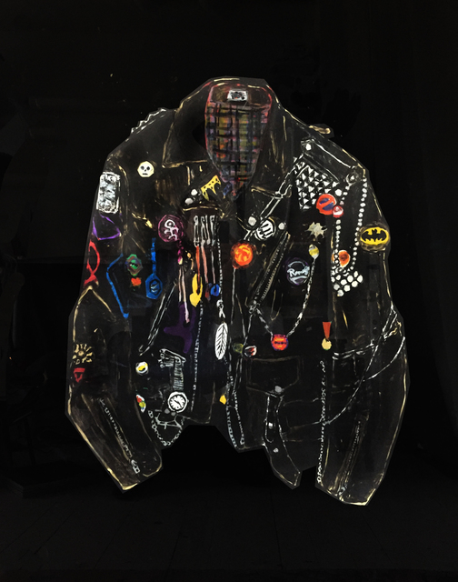 , 'Jacket with Chains, Patches and Wrist Watch,' 2018, V1 Gallery