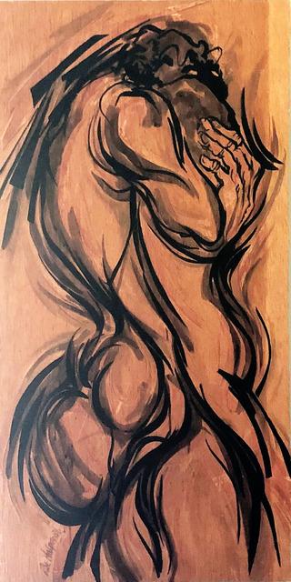 , 'Mother & Child,' 1976, Machamux