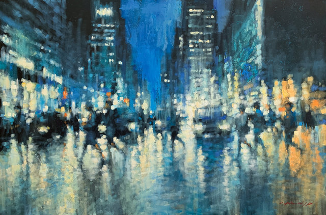 David Hinchliffe, 'Pitt Street Shadows', Wentworth Galleries