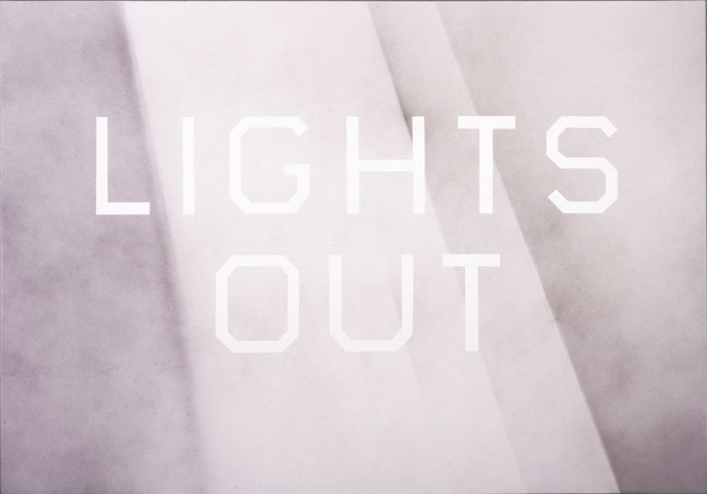 , 'Lights Out,' 2008, Gagosian Gallery