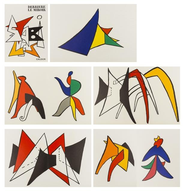 Alexander Calder, 'Derrière le Miroir No. 141', 1963, Forum Auctions